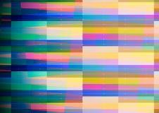 Fond géométrique abstrait avec le bord bleu Photos libres de droits