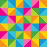 Fond géométrique abstrait coloré. Image stock
