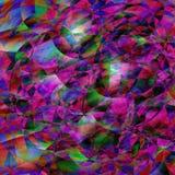 Fond géométrique abstrait coloré Images stock