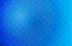 Fond géométrique abstrait de bleu de style Images libres de droits