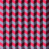Fond géométrique abstrait de chevron Photo libre de droits