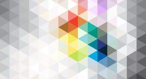 Fond géométrique abstrait de gris Photos libres de droits