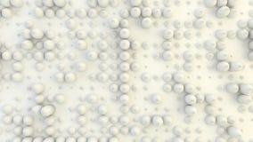 Fond géométrique abstrait de la rangée de cônes aléatoirement expulsée Photographie stock libre de droits