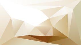 Fond géométrique abstrait de Lowpoly Photographie stock