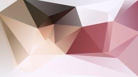 Fond géométrique abstrait de Lowpoly Photos libres de droits