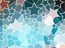 Fond géométrique abstrait de mosaïque Photo libre de droits
