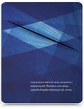 Fond géométrique abstrait de vecteur Images stock