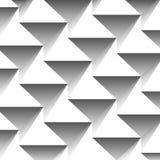 Fond géométrique abstrait des triangles Image libre de droits