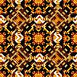 Fond géométrique abstrait lumineux des pixels colorés Images libres de droits