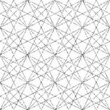Fond géométrique avec le losange Configuration géométrique abstraite Texture d'or illustration libre de droits