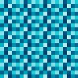 Fond géométrique blanc bleu carré de vecteur Photographie stock libre de droits