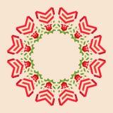 Fond géométrique circulaire Photographie stock