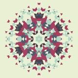 Fond géométrique circulaire Image stock