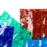Fond géométrique coloré Photos libres de droits
