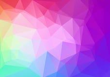 Fond géométrique coloré abstrait pour la conception 48 illustration de vecteur
