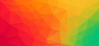 Fond géométrique coloré avec des triangles et espace de copie pour le texte fait sur commande Fond abstrait de triangles pour le  illustration stock