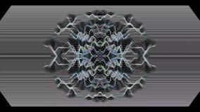 Fond géométrique cosmique de résumé vibrant illustration stock