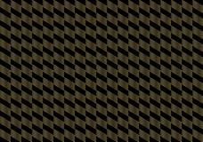 Fond géométrique d'échecs d'or Images libres de droits