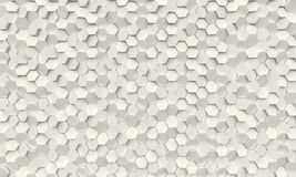 Fond géométrique d'hexagone Images libres de droits