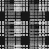 Fond géométrique d'ornement abstrait sans couture de modèle Photographie stock