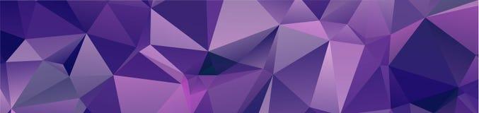 fond géométrique de conception de fond dans le style et l'abst d'origami Images libres de droits