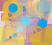 Fond géométrique de configurations Image stock