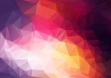 Fond géométrique de couleur abstraite pour la conception illustration de vecteur