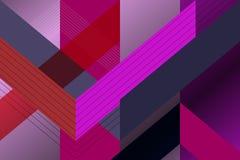 Fond géométrique de formes Images stock