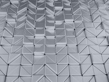 fond géométrique de metalli d'abrégé sur l'illustrtion 3d illustration stock