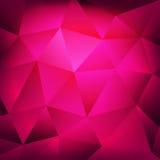 Fond géométrique de pourpre d'abrégé sur textures Images libres de droits