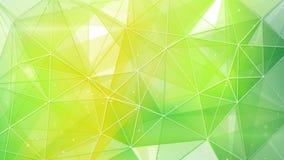 Fond géométrique de ressort abstrait Image libre de droits