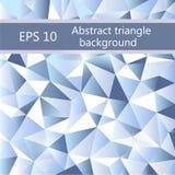 Fond géométrique de triangle abstraite Image libre de droits