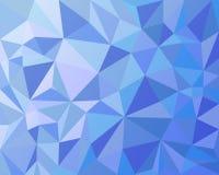 Fond géométrique de triangles Photos libres de droits