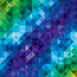 Fond géométrique de vecteur Photos stock