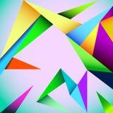 Fond géométrique de vecteur Photos libres de droits