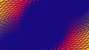 Fond géométrique de vecteur de modèle de gradient coloré illustration libre de droits