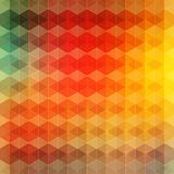 Fond géométrique de vintage Image stock