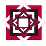 Fond géométrique des places colorées illustration de vecteur