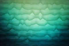 Fond géométrique du vecteur 3D abstrait Photographie stock libre de droits