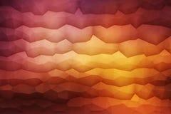 Fond géométrique du vecteur 3D abstrait Photo libre de droits
