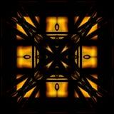 Fond géométrique et coloré abstrait Photo libre de droits