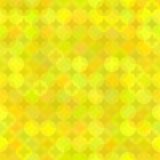 Fond géométrique jaune des ronds illustration libre de droits
