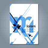Fond géométrique minimal abstrait Photos libres de droits