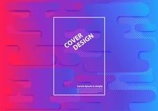 Fond géométrique minimal Formes dynamiques Diplômé à la mode de vecteur Image libre de droits