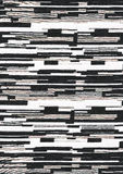 Fond géométrique noir et blanc. Image stock