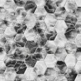 Fond géométrique noir et gris Image stock