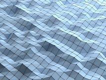 Fond géométrique polygonal de formes d'abrégé sur moderne la science nous Photos libres de droits