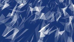 Fond géométrique polygonal moderne de triangle de résumé illustration libre de droits