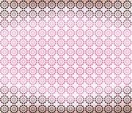 Fond géométrique rose de papier peint de Brown illustration de vecteur
