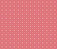 Fond géométrique rouge Images libres de droits
